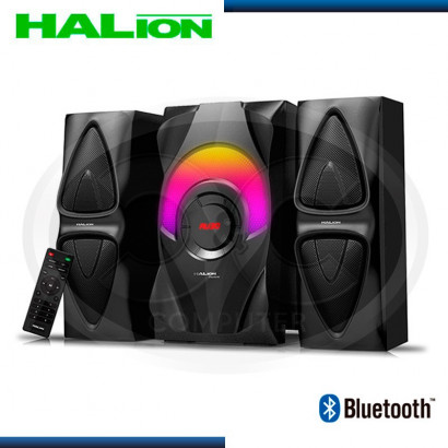 PARLANTE HALION 2.1 PHANTOM HA-846BT USB/SD/FM/BT/C-REMOTO/RMS 90W