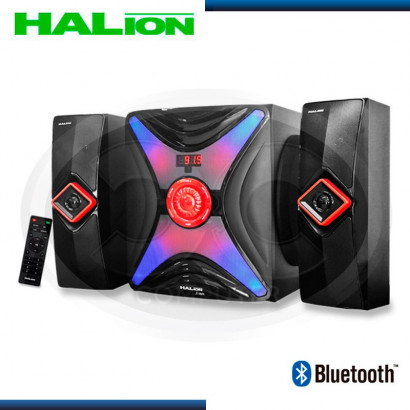 PARLANTE HALION 2.1 X-MEN HA-755BT USB/SD/FM/BT/C-REMOTO/150 RMS