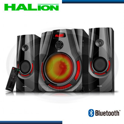 PARLANTE HALION 2.1 TERMINATOR HA-925BT LUCES LED