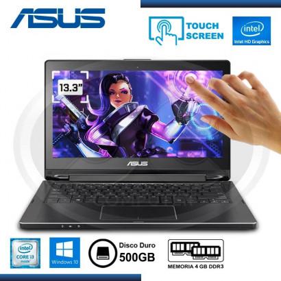 NOTEBOOK ASUS TP301UA-DW009T INTEL CORE I3-6TA,4GB, 500GB, 13.3 TOUCH, WIN10