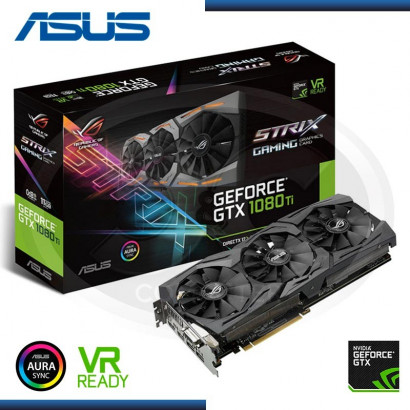 ASUS GEFORCE GTX 1080 TI GDDR5X,  STRIX-GTX1080TI-11G-GAMING (PN:90YV0AM1-M0NA00)