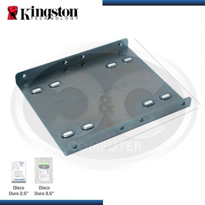 BRACKET/RACK KINGSTON DISCO 2.5 TO 3.5