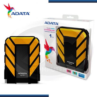 DISCO DURO EXTERNO 1TB ADATA HD710 AMARILLO / NEGRO USB 3.0 (PN:AHD710-1TU3-CYL)