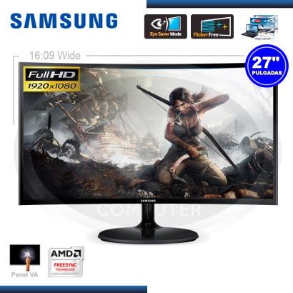 """MONITOR LED 27"""" SAMSUNG LS27F390FHLX CURVO FULL HD 1920 x 1080 VGA & HDMI (G.SAMSUNG 080077708)"""