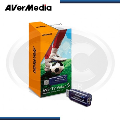 SINTONIZADOR TV USB AVERMEDIA AVER TV VOLAR S, FULL HD