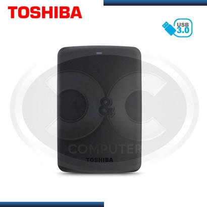 "DISCO DURO EXTERNO 2.5"" 3TB TOSHIBA  CANVIO, USB 3.0, NEGRO (PN:HDTB330XK3CA)"