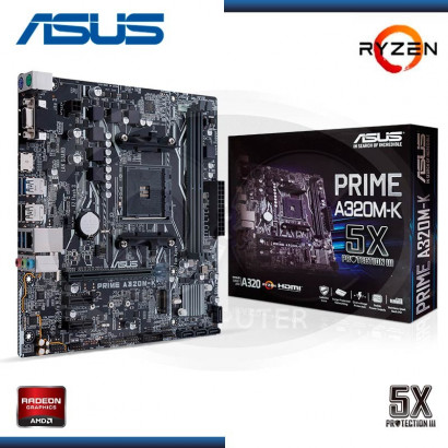 MB ASUS A320M-K PRIME AMD RYZEN DDR4 AM4