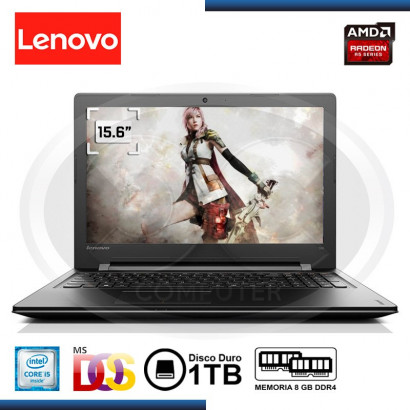 "NOTEBOOK LENOVO V310 -15ISK  I5 6200U 2.3G/DDR4 8GB /1TB SATA/15.6""/VIDEO 2G/FREE DOS (PN:80SY02GSLM)"