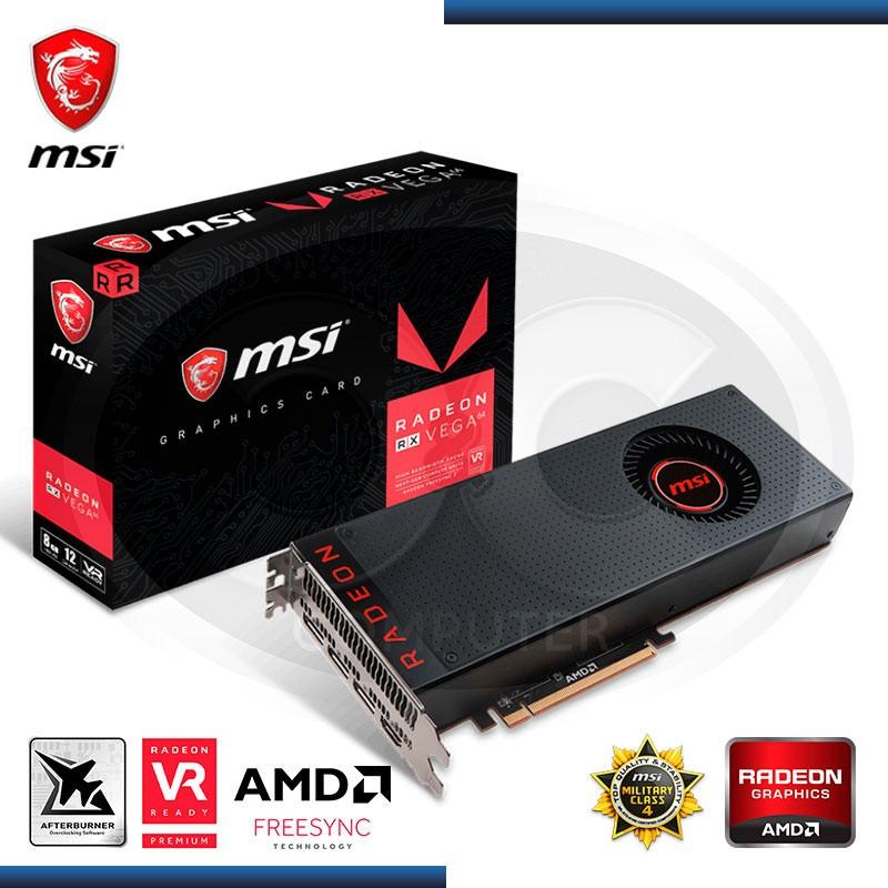 8GB PCI-EXPRESS MSI RADEON RX VEGA 64  HBM2,HDMI, FAN, DP*3 (PN:912 -V803-870 )