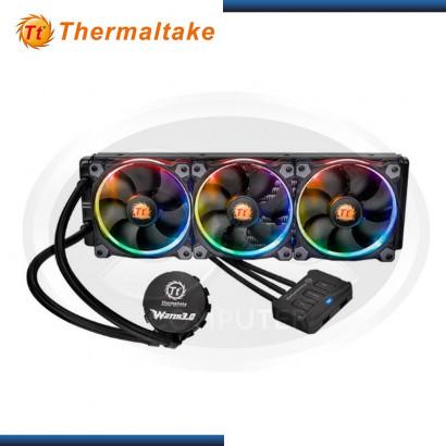 SISTEMA DE ENFRIAMIENTO LIQUIDO THERMALTAKE WATER 3.0 RIING RGB 360 (CL-W108-PL12SW-A)