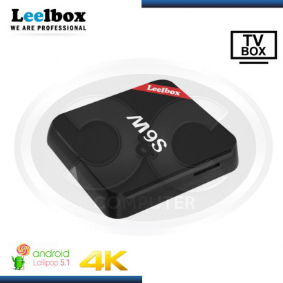 ANDROID TV BOX LEELBOX M9S, WIRELESS DUAL BAND, ANDROID 5.1, 2GB DDR3, 16GB FLASH.