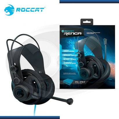 AUDIFONO C/ MICROFONO ROCCAT RENGA GAMING BLACK (PN: ROC-14-400-AM)