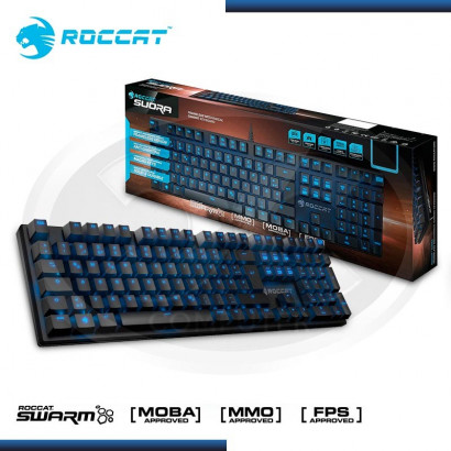TECLADO ROCCAT SUORA MECHANICAL GAMING BLACK (PN:ROC-12-201)