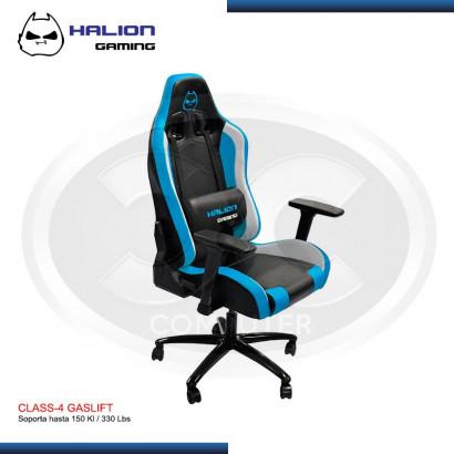 SILLA GAMER HALION HA-S22 NEGRO/ CELESTE