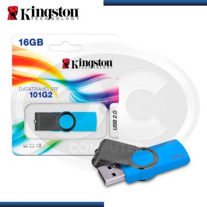 MEMORIA USB 2.0 16GB KINGSTON DT101 G2 BLUE (PN:KC-U3016-2X3B)