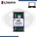 MEMORIA KINGSTON KVR DDR3 8GB 1333 MHZ (N/P 1333D3S9/8G)