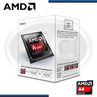 PROCESADOR AMD APU A4-6300 3.7GHZ 1MB /FM2 /HD8370D
