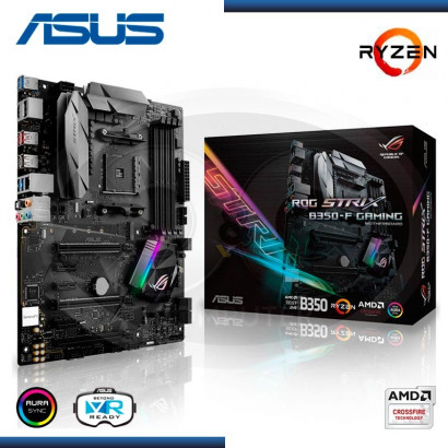 MB ASUS ROG STRIX B350-F GAMING, AM4, AMD B350, DDR4, SATA 6.0, USB 3.1, VD/SN/NW (PN:90MB0UJO-MOEAYO)