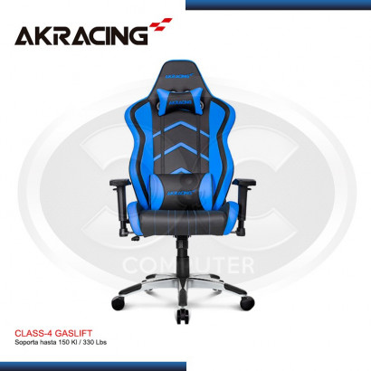 SILLA GAMER AK-RACING PLAYER SERIES ROCCAT (PN: AK-PLAYER BL-ROCCAT)
