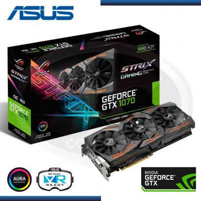 ASUS GEFORCE GTX 1070 8GB ROG STRIX GAMING (PN: 90YV09N0-M0NA00)
