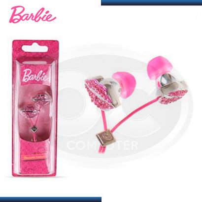 AUDIFONO BARBIE GLAMTASTIC EARBUDS PINK (11559-HT)[11559-HT]