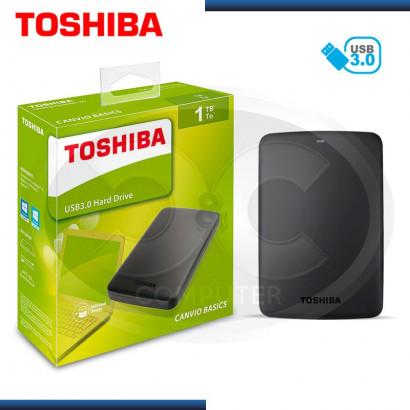 TOSHIBA CANVIO BASIC 1TB DISCO DURO EXTERNO 2.5 USB 3.0 NEGRO