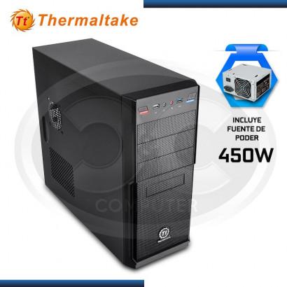CASE THERMALTAKE V2 PLUS 450W, NEGRO