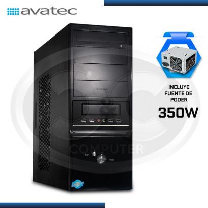 CASE AVATEC 7001U42B C/ FUENTE ATX 350W REALES