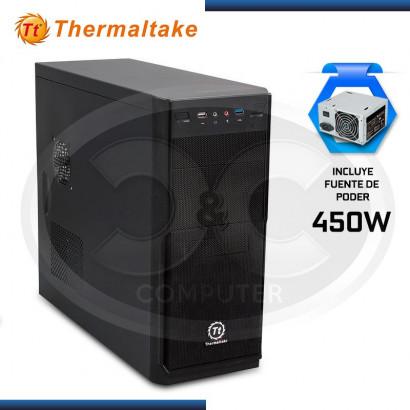 CASE THERMALTAKE V2 PLUS 450W NEGRO