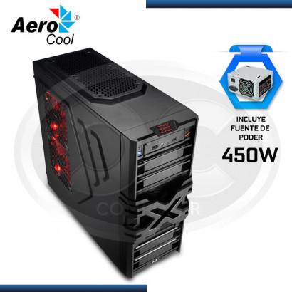 CASE AEROCOOL STRIKE - X ONE 450W, MID TOWER