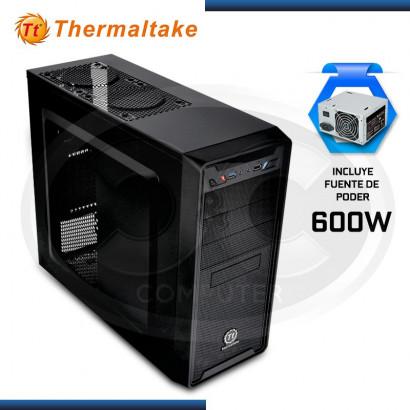 CASE THERMALTAKE VERSA II USB 3.0, 600W MID TOWER