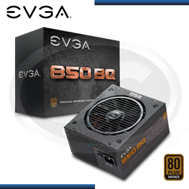 FUENTE EVGA 850GQ 80 PLUS BRONZE SEMI MODULAR (PN: 110-BQ-0850-V1 )