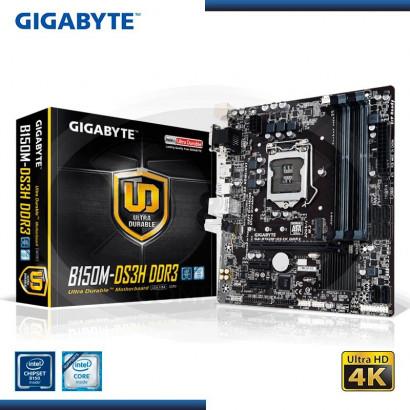 MB GIGABYTE B150M-DS3H C/VIDEO- SONIDO-RED DDR3 LGA 1151