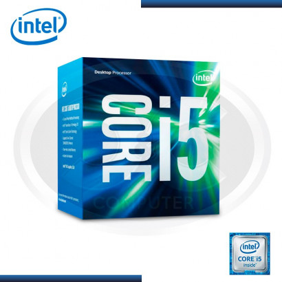 PROCESADOR INTEL CI5 6600 3.3 GHZ, 6MB, LGA1151, 14NM, HD530