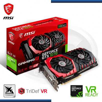 MSI GEFORCE GTX 1070 GAMING X 8GB GDDR5, 256-BIT ( 912 -V330-018 )