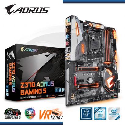 MB AORUS Z370 GAMING 5   LGA1151V2 ATX