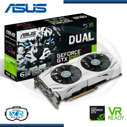 6GB PCI EXPRESS ASUS GEFORCE GTX 1060 DUAL OC GDDR5 (PN:90YV09X0-MONA00)