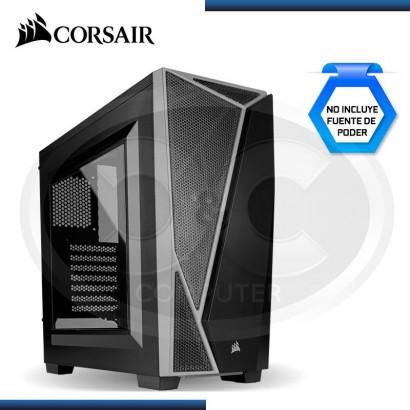 CASE CORSAIR CARBIDE SPEC-04 SIN FUENTE BLACK / GRAY (PN:9011109-WW)