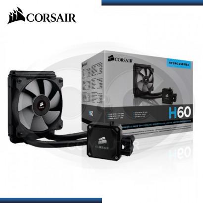 COOLER PARA PROCESADOR LIQUIDO CORSAIR H60 BLACK (PN:15529430)