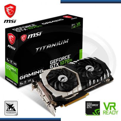 MSI GEFORCE GTX 1070 TI TITANIUM 8GB GDDR5 (PN: GTX 1070 TI TITANIUM 8G )