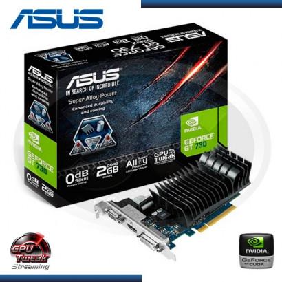 ASUS GEFORCE GT 730 2GB DDR3, 128 BITS (PN: 90YV06P3-MONA00 )