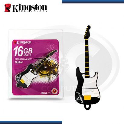 MEMORIA USB 2.0 16GB KINGSTON DATATRAVELER GUITARRA (N/P KE-U5516 )