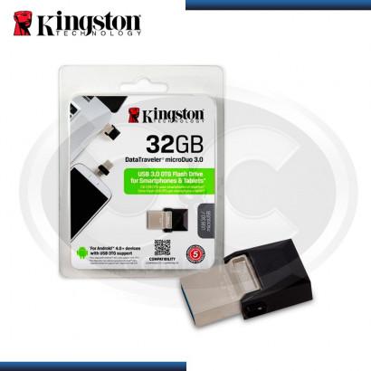 MEMORIA USB 3.0 32GB KINGSTON OTG DUO 3.0 (N/P DTDUO3/32GB )