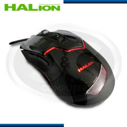 MOUSE GAMER HALION HA-905 NEGRO