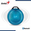 PARLANTE BLUETOOTH GENIUS SP-906BT PLUS BLUE M2 3W RMS (PN 31730007406)