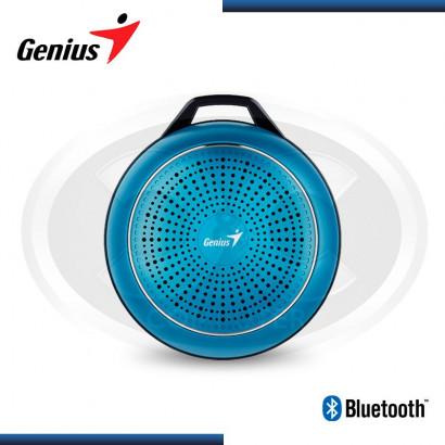PARLANTE BLUETOOTH GENIUS SP-906BT PLUS BLUE M2 3W RMS (PN 31730007406)