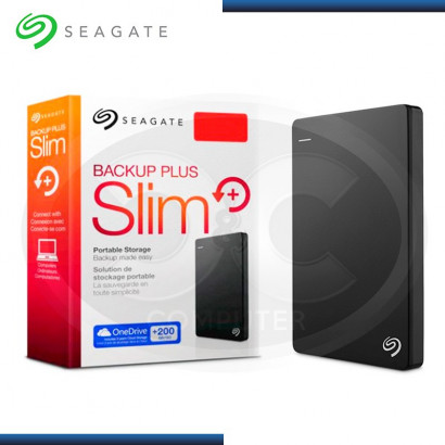 "DISCO DURO 2TB EXTERNO SEAGATE BACKUP PLUS SLIM 2.5"" USB 3.0 (PN:STDR2000100)"