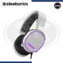 AUDIFONOS STEELSERIES ARCTIS 5 WHITE , 7.1 SURROUND, ILUMINACIÓN RGB, MICRÓFONO, USB ( N/P PC- 61444)