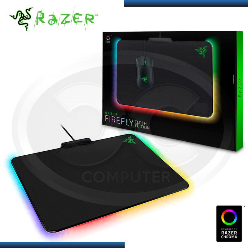 PAD MOUSE RAZER FIREFLY CLOTH EDITION GAMING BLACK USB (PN:RZ02-02000100-R3U1)
