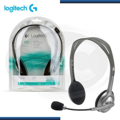 AUDIFONO C/MICRO LOGITECH STEREO H110